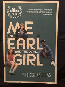 Jesse Andrews Me And Earl And The Dying Girl Paperback