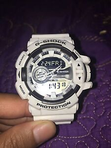Casio G-Shock Men's Watch in White Inala Brisbane South West Preview