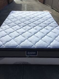 FREE DELIVERY Sleepmaker Pillow Top Queen Mattress&Base in good condi!