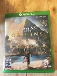 Assassins creed origins for XBOX1