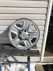 """4 Toyota Tundra18""""  steel rims and Centers"""