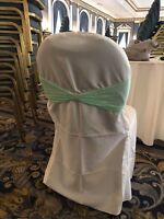 Chair covers, sashes