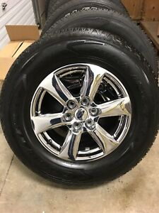 2018 Ford F-150 tires and rims
