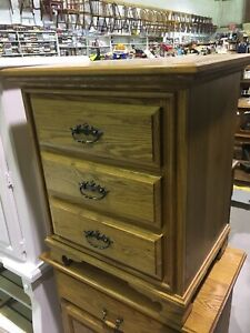 Solid Oak Small Dresser