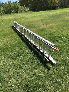 échelle d'aluminium