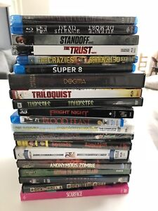 20 new or rare Blu Rays and DVD's - horror, Kevin Smith