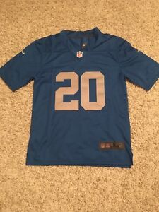 Barry Sanders throwback Lions jersey
