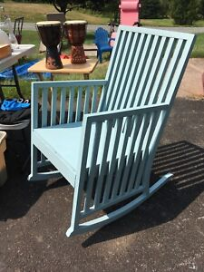 Antique Refinished Rocking Chair