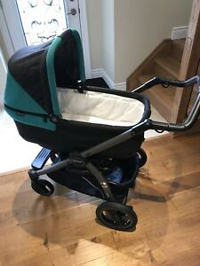 Peg Perego book pop-up stroller and Primo Viaggio car seat