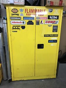 Fire proof flammable cabinet
