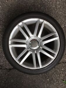"""Audi OEM 18"""" S4 Wheels with Tires"""