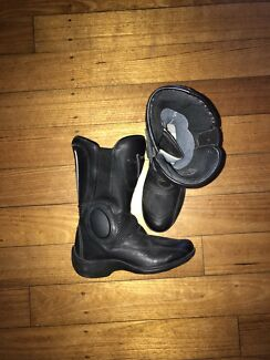 Dainese women's leather motorcycle boots