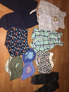 3-6 months boys clothes