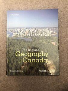 McMaster Geog 2OC3 Regional Geography of Canada Textbook