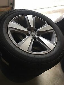 Acura MDX tires and rims