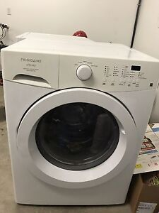 Front load washer and dryer. HE