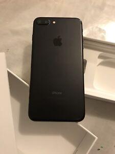 iPhone 7plus 128 GB mat black factory unlocked