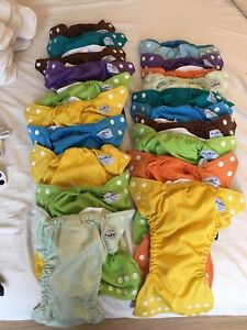 Fuzzibunz Diapers and Liners