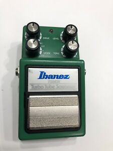 Ibanez TS9DX Turbo Tube Screamer overdrive pedal