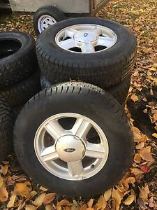 """15"""" Ford/Jeep rims & tires"""