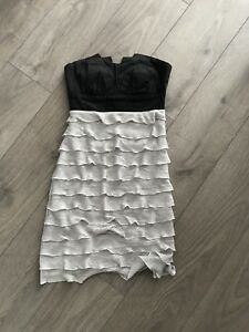 Let Chateau black and silver dress