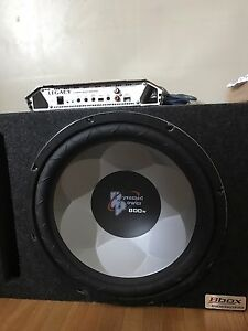 "15 "" Subwoofer & Amplifier"