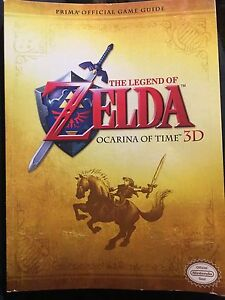 Legend of Zelda ocarina of time 3ds strategy guide