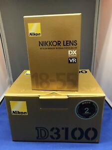 Brand New Nikon D3100 With 18-55mm Lens