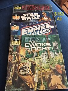 Star Wars books and records vintage