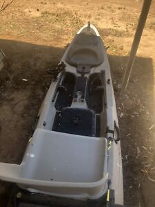 Malibu fishing kayak with the lot/ trolling motor/ fish finder