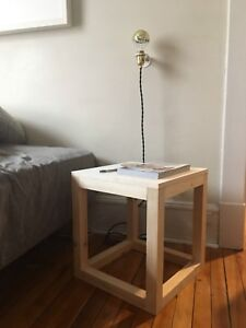 Utility Side Table - Handmade