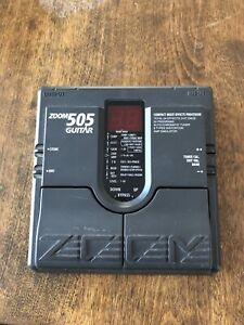 Zoom 505 guitar effects pedal