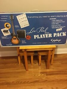 Brand new Les Paul guitar and amp for sale
