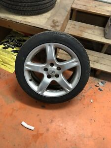 17 inch Lexus wheels with brand new tires