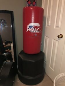 ORIGINAL WAVE MASTER PORTABLE STAND UP TRAINING / PUNCHING BAG