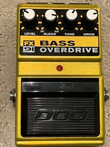 DOD bass overdrive