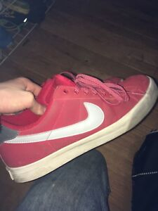 Nike's red