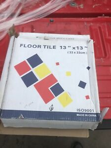 Cosmetic tile and porcelain tiles