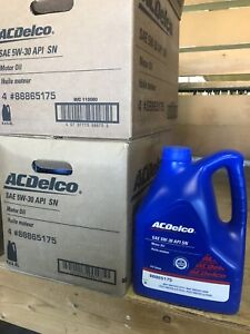 Close out sale motor oil, Dexos and regular.