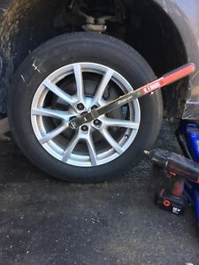 Mobile seasonal tire change