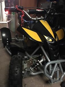 Kids quad bike hardly used 50cc? Helmet included North Beach Stirling Area Preview