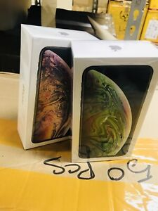 I phone xs max 256gb brand new sealed in box ''''