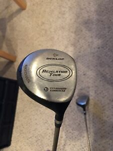 Dunlop 3 and 5 wood for sale
