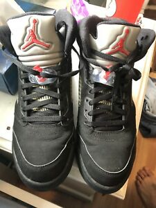 Jordan 5 Metallic Black 2007