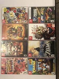 Switch Games for sale or trade (Looking for Mario Kart Deluxe)