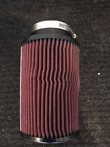 Air Intake Filter 3in diameter by 8 inches in lenght