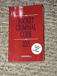 Pocket criminal code - 2015