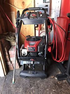 Pressure washer 8.75 hp for trade