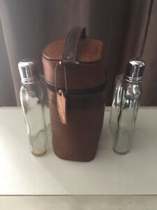 Vintage caballero flask set