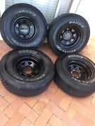 MAXXIS 235/75 R 15 SET OF 4 ON SUNRAYSIA RIMS Broadbeach Waters Gold Coast City Preview